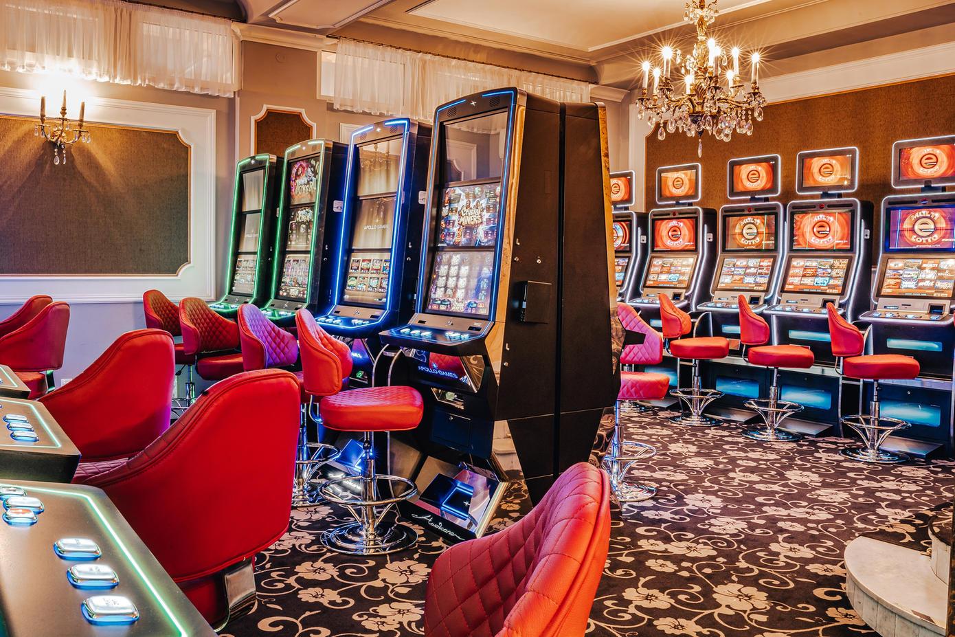 Slot Machine Room