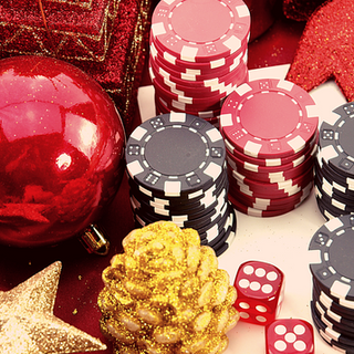 Christmas Casino-themed Party