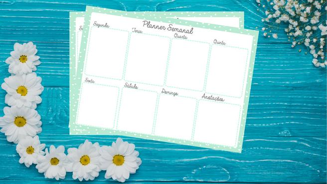 Freebie: Planner Semanal
