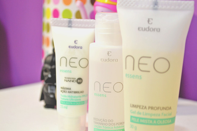 Resenha: Linha Neo Essens para pele mista e oleosa - Eudora