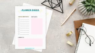 Freebie: Planner diário