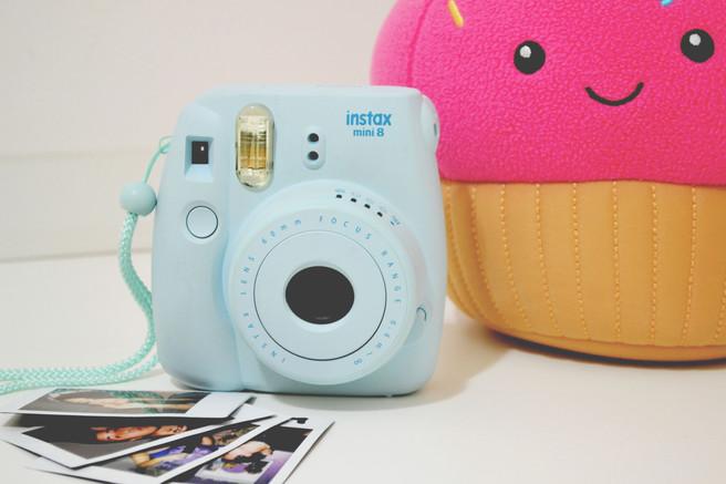 Minha câmera Fujifilm Instax mini 8