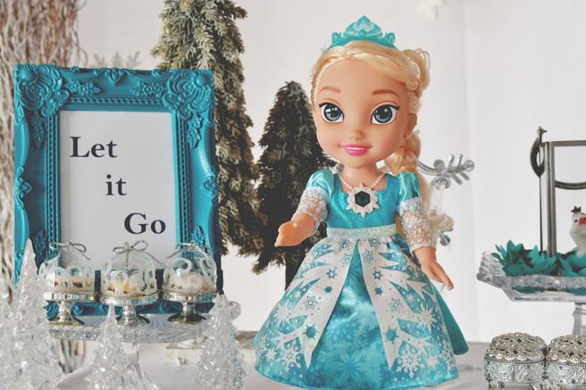 Fotografando: Festa Frozen