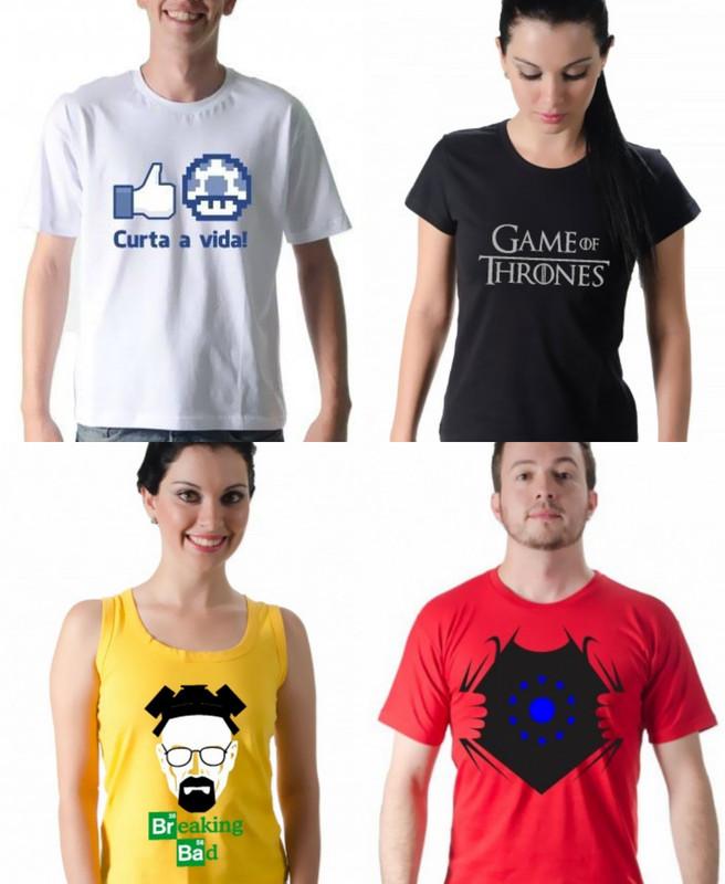 Camisetas ClicTshirt + Novidade