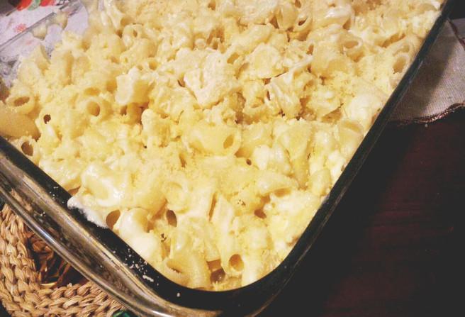 Receita de mac & cheese