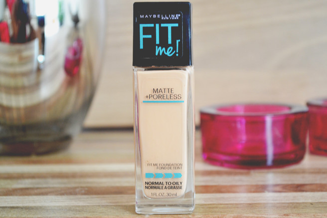 Resenha: Base Fit me Maybelline