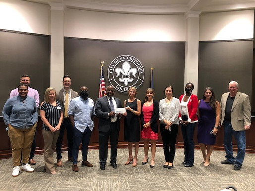 City of Natchitoches Invests in Local Youth Development