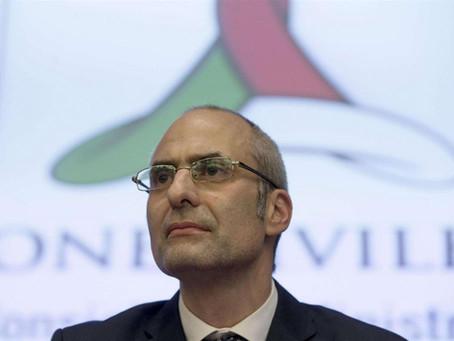 Fabrizio Curcio nuovo capo del Dipartimento della Protezione Civile