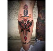 Moth and Dagger