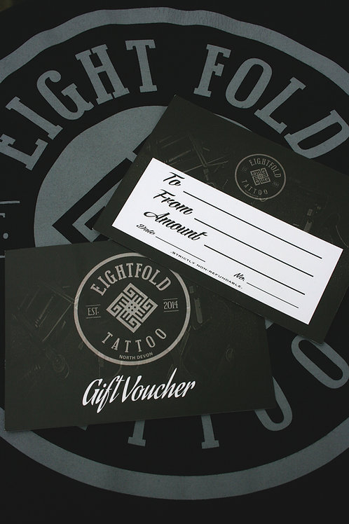 Eightfold Tattoo Gift Voucher