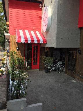 entrance of bread shop