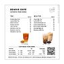 Dcubic cafe menu