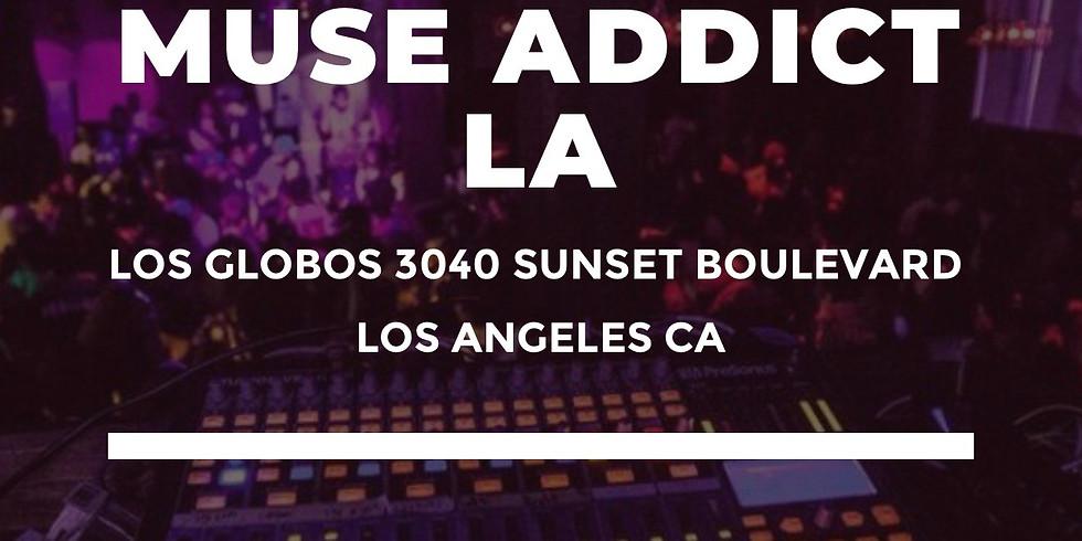 Muse Addict LA - Body Paint