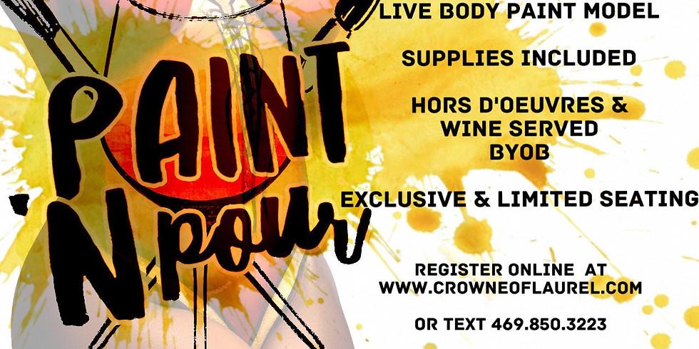 Paint n Pour : Body Edition 21+