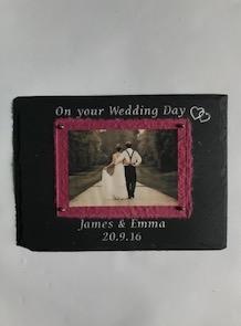 Ffrâm Briodas  Wedding Frame