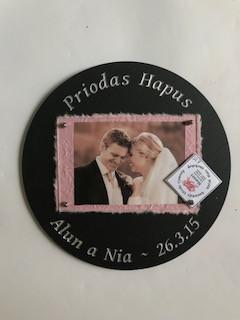 Ffrâm Briodas/Wedding frame