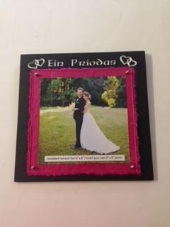 Ffrâm 'Ein Priodas'/'Our Wedding' Frame