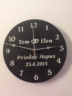 Cloc Priodas  Wedding Clock