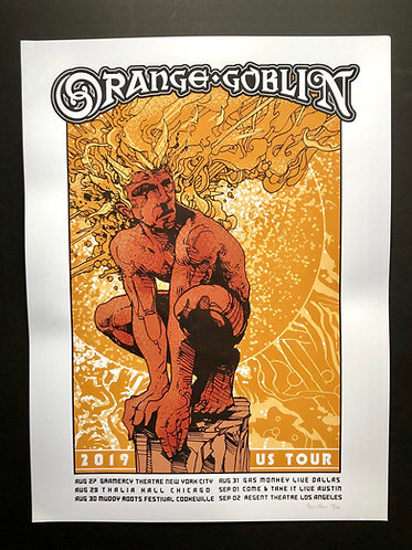 U.S. Tour Poster (by Brian Mercer)