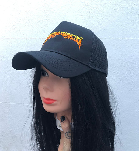 Embroidered Mesh Back 'Trucker' Cap