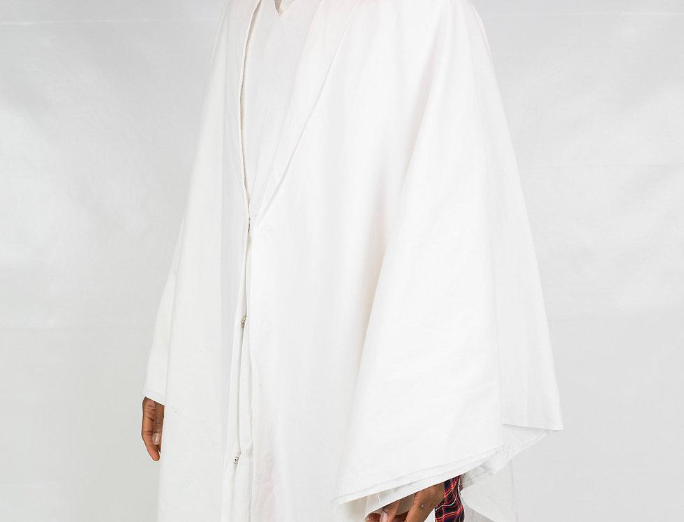 Derby's - Poncho sans couture - blanc
