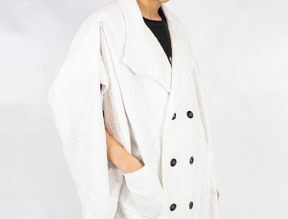 Derby's - Agbada Noé tailleur - blanc