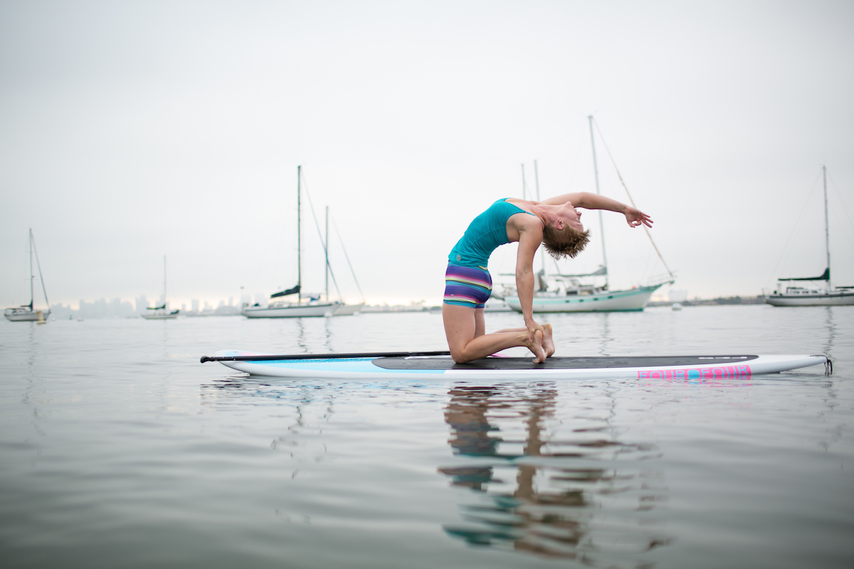 Challenge your balance with SUP.