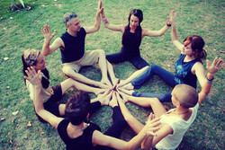Connect with the yoga community.