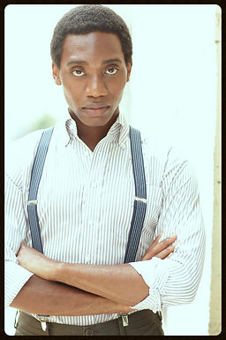James Roberts IV headshot actor singer dancer sing new york hair national tour memphis hairspray law and order