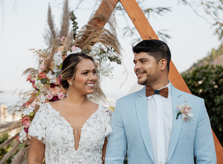 Editorial de casamento no Solar Real