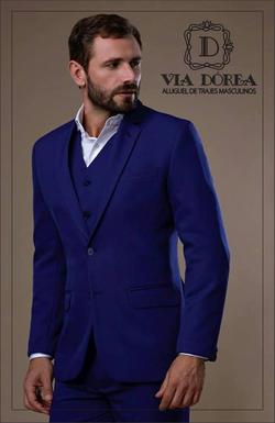 Terno azul royal
