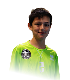 Jeune handballeur Handball Clermont Métropole