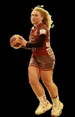 Joueuse de l'équipe Sénior Féminine du HandBall Clermont Métropole