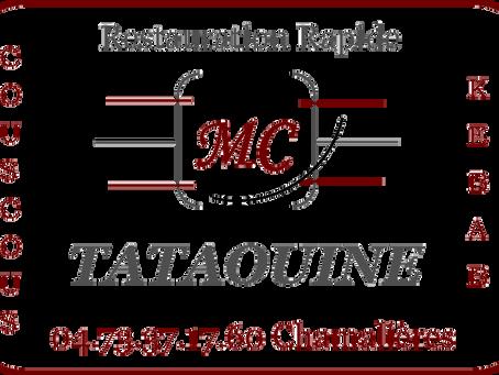Notre partenaire Mc TATAOUINE rouvre ses portes !