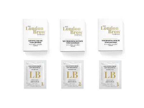 London Brow Lamination Sample Kit