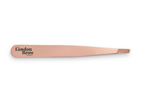 Precision Slanted Brow Tweezers - The London Brow Company