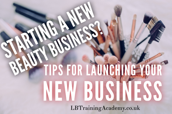 How to start a Beauty Business - 5 Tips to get started!