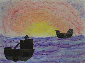 Kristen H. - Ships by Sunset