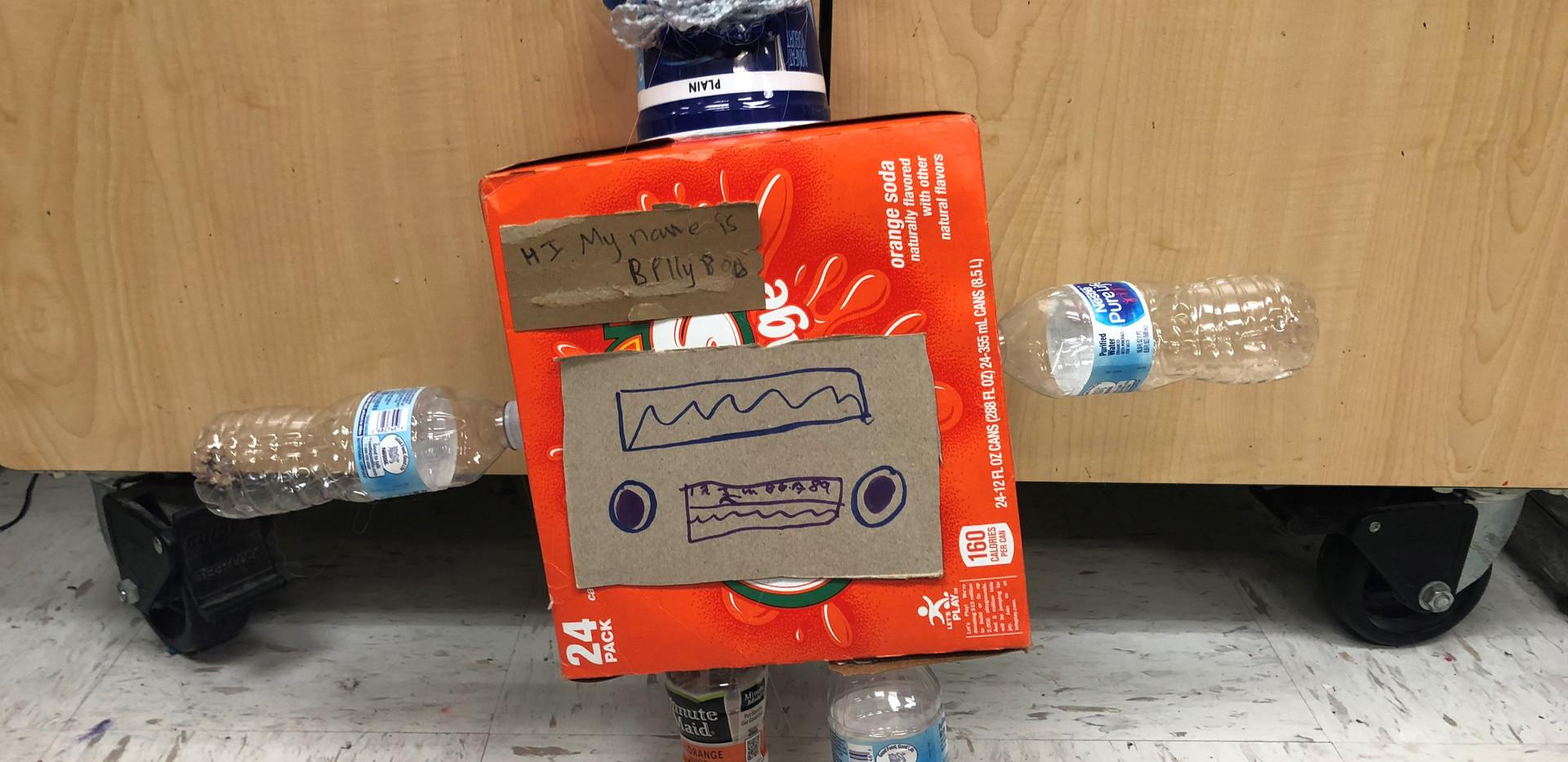 Art Club Recycled Robots