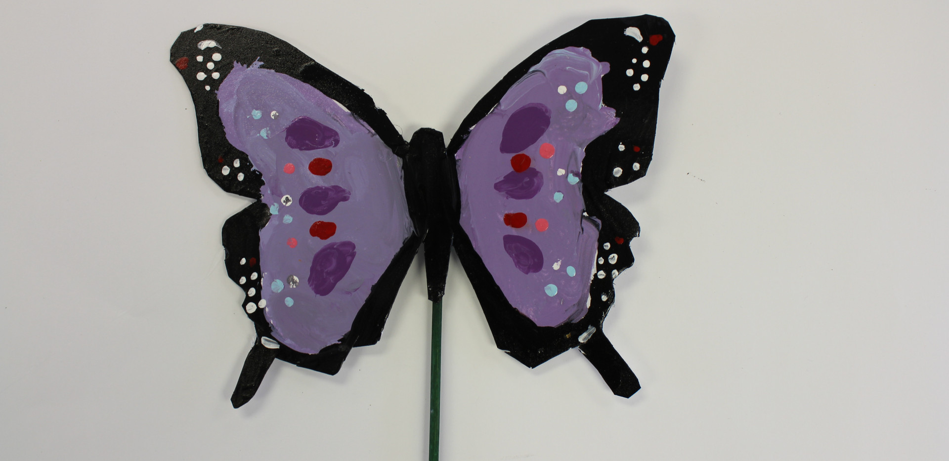 Recycled Butterfly Sculpture 4