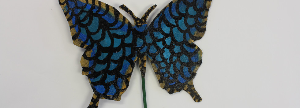 Recycled Butterfly Sculpture 6