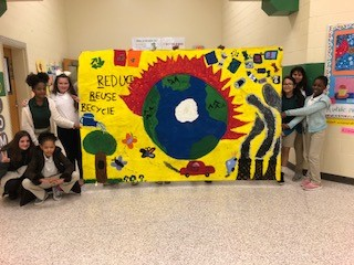 Southwest Elementary.ISCAPMURAL3.5th Grade ArtClub
