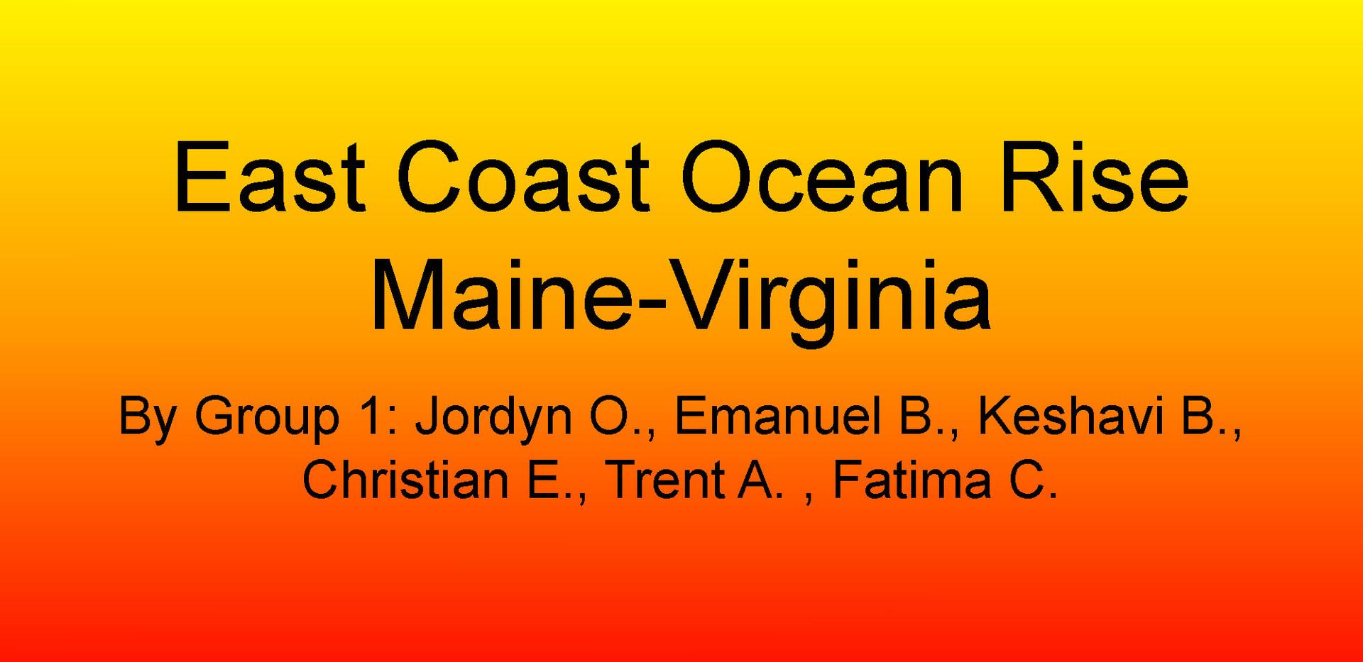 P-6_ISCAP East Coast Maine-Virginia Glob