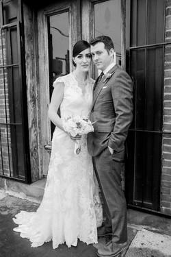 Hallie and Ted Wedding