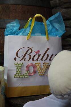 Baby presents at LIC Weddings