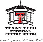The logo for the Texas Tech Federal Credit Union.