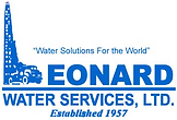 The logo for Leonard Water Services.