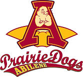 The logo for the Abilene Prairie Dogs.