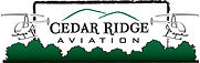 The logo for Cedar Ridge Aviation.