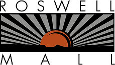 The Logo for The Roswell Mall in Roswell, New Mexico.